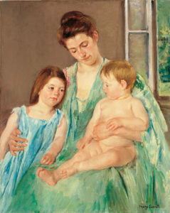 Mary CassattYoung Mother and Two Children1908White House Historical Association