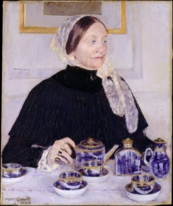 Mary CassattLady at the Tea Table1883–1885The Metropolitan Museum of Art