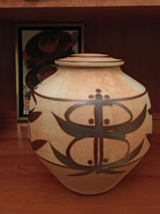 Ceramic Jar by Robin Hopper