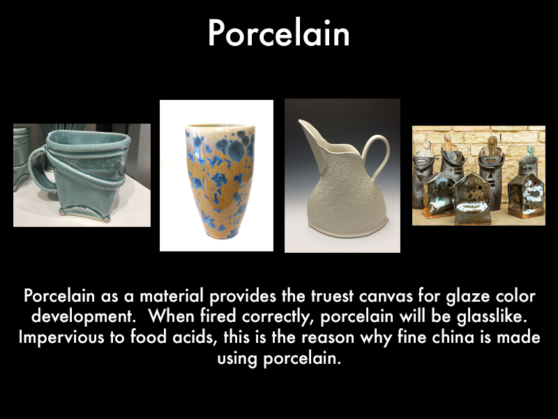 porcelain pottery