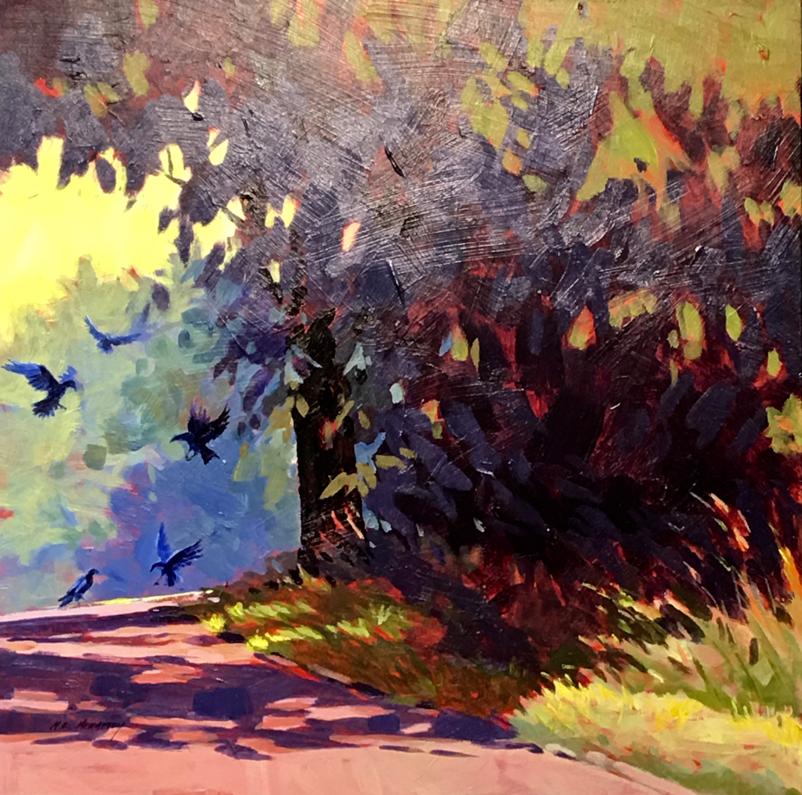 acrylic painting by Mark Mehaffey