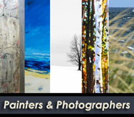 Collage of our Painters and Photographers.