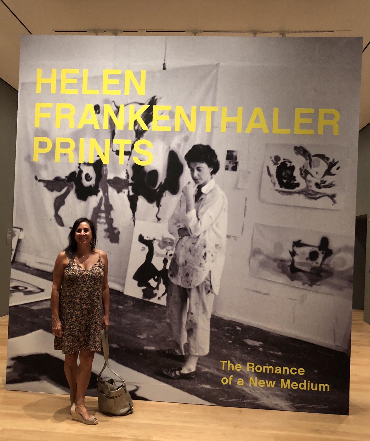 Helen Frankenthaler Print exhibit