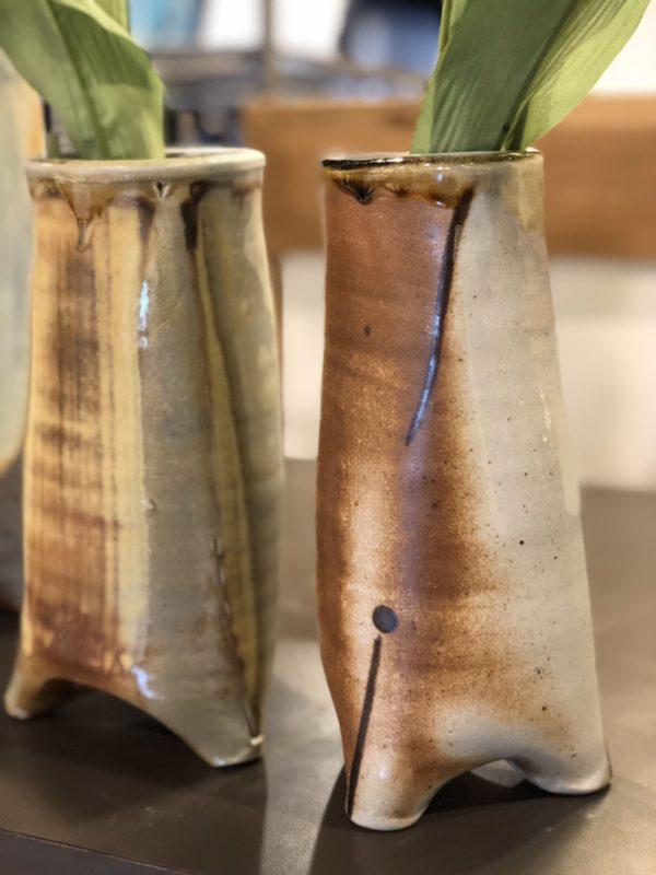 Footed Vases by Julie Devers