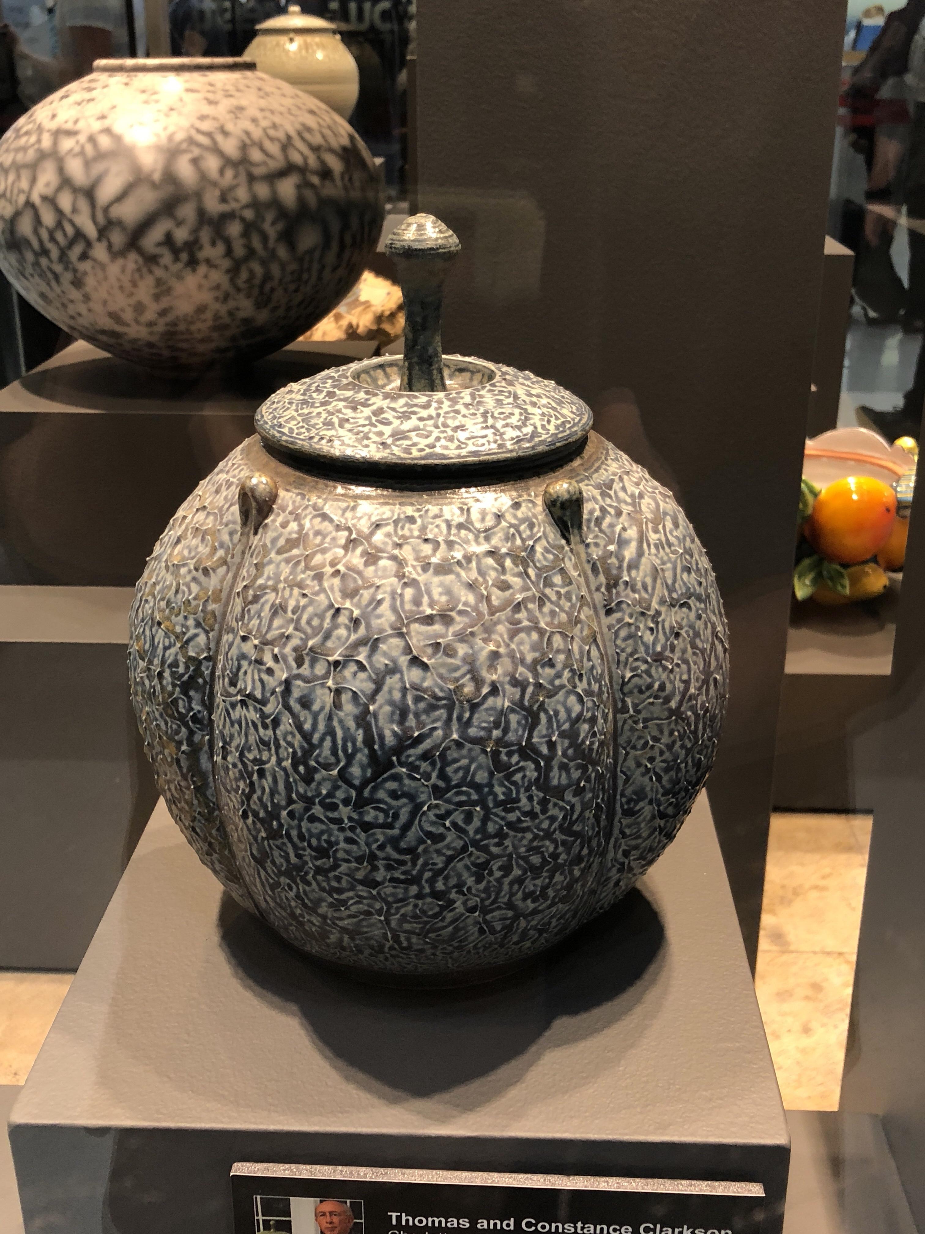 Larry Allen, ceramic jar