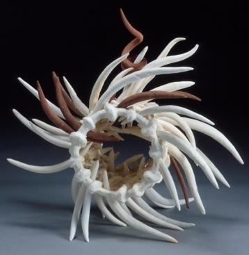 Graham Hay paper clay sculpture