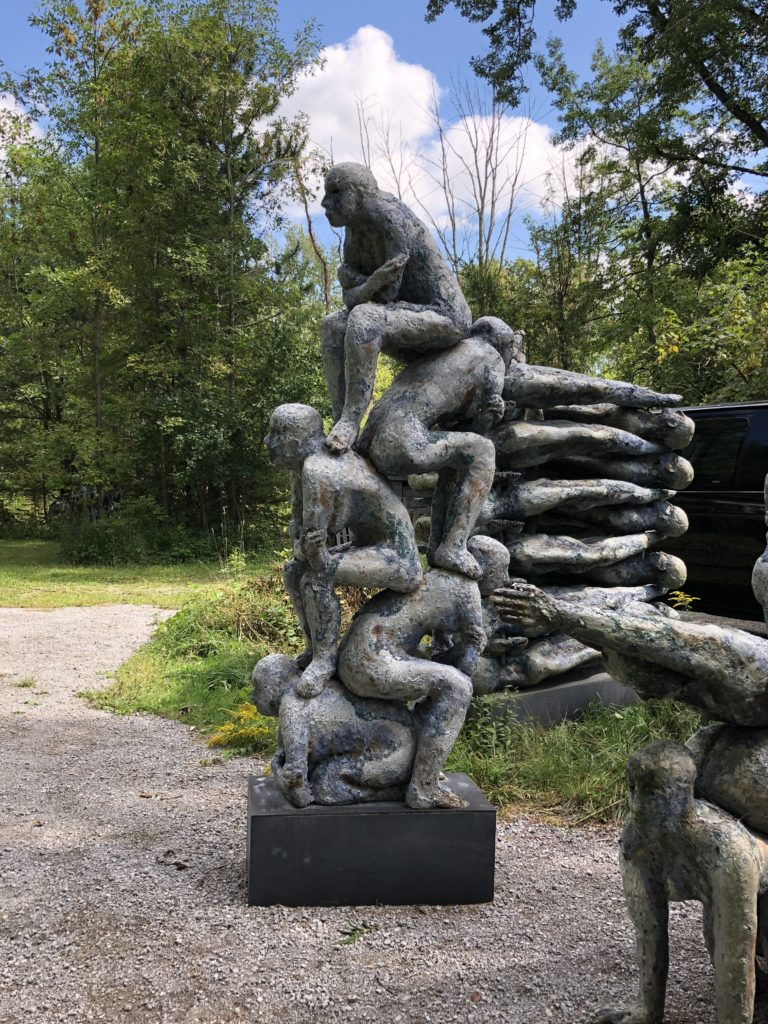 Mark Chatterley ceramic sculpture