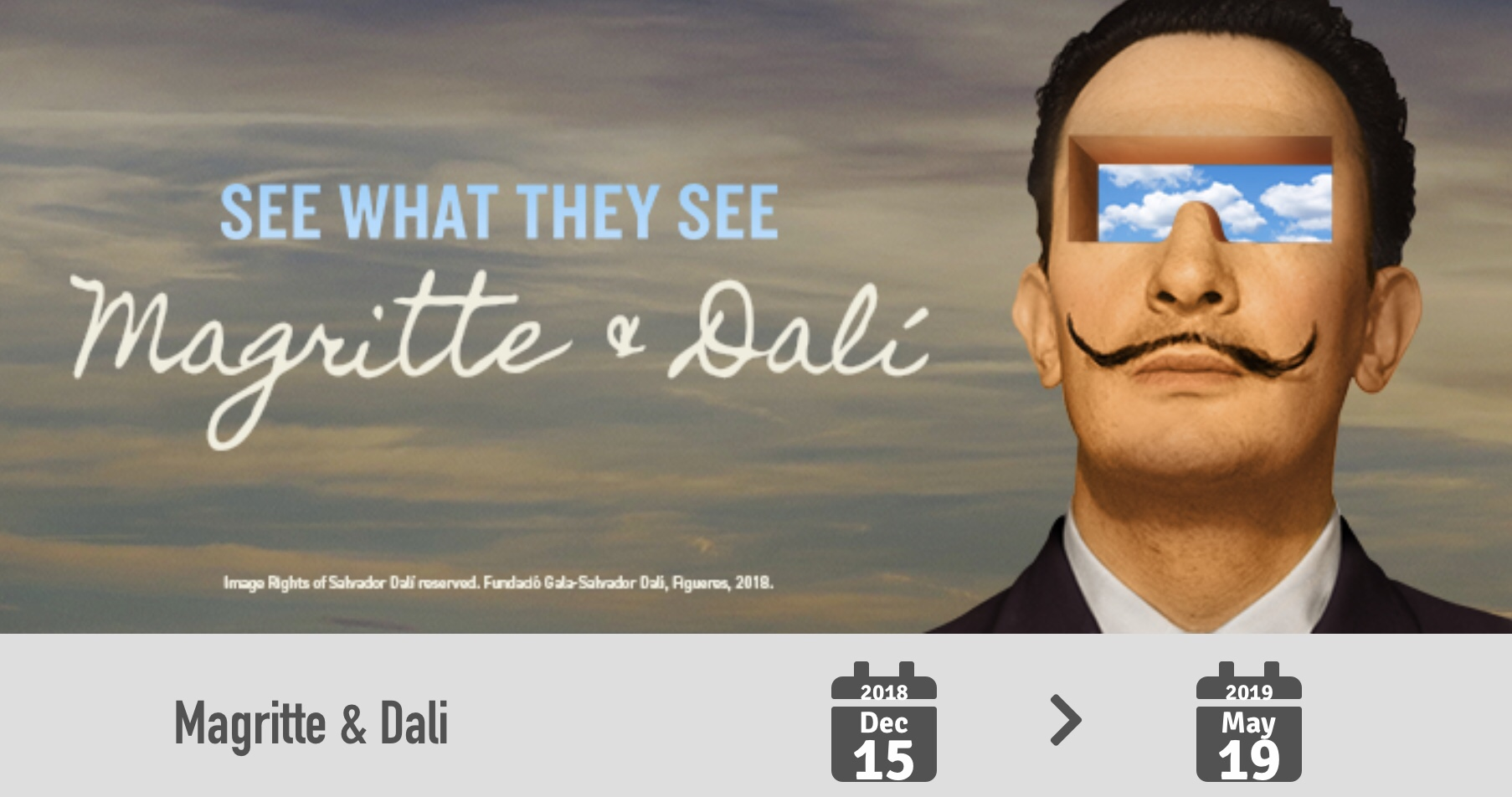 The Dali Museum Exhibit with Rene Magritte