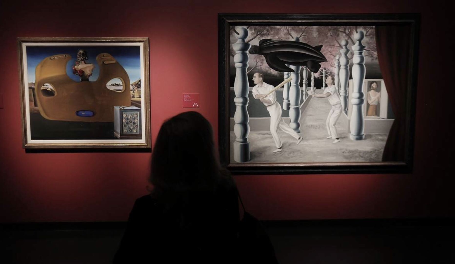 Magritte and Dali on exhibit