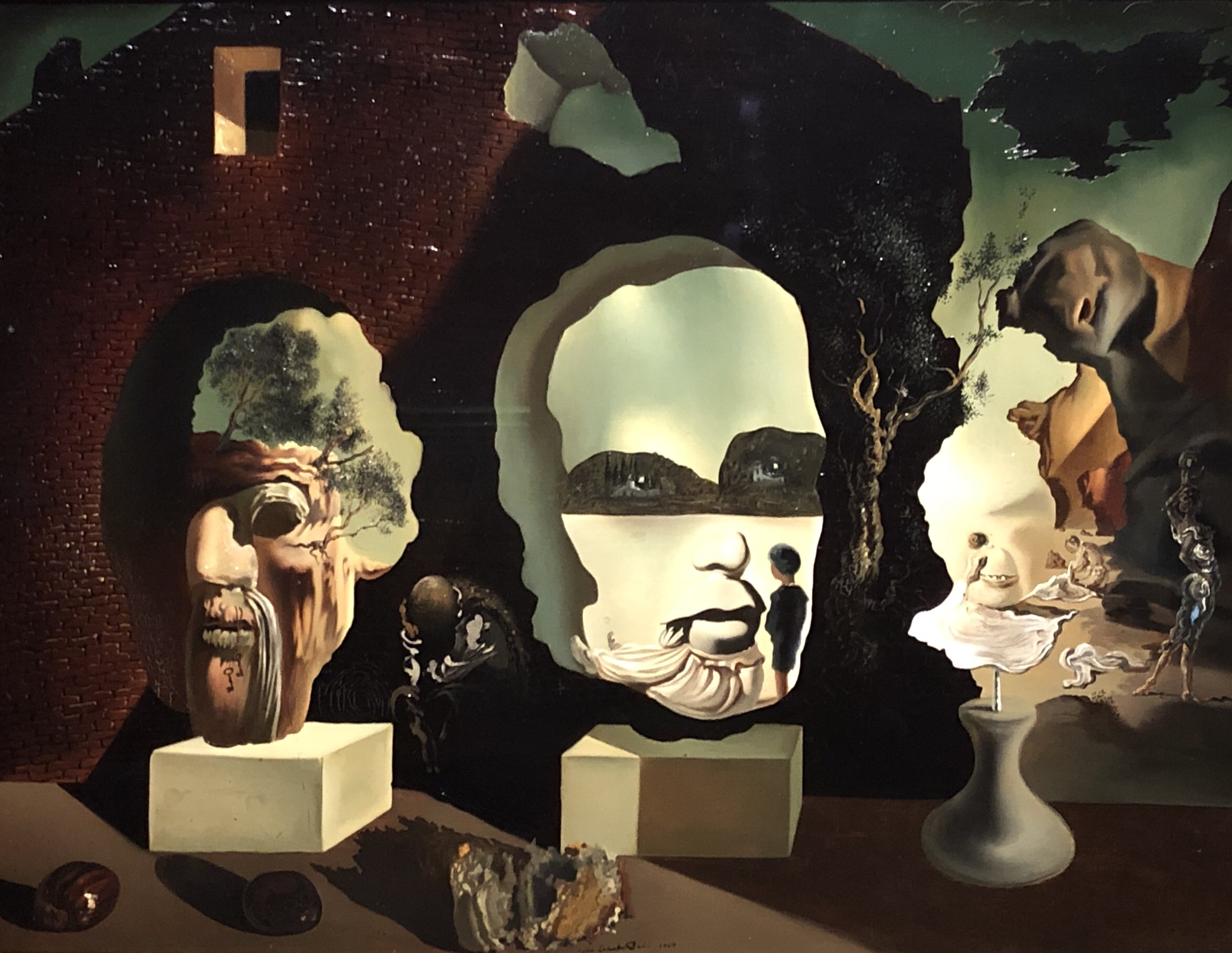 Dali's three ages