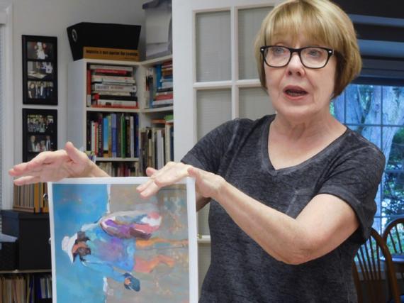 Donna Zagotta teaching painting workshop
