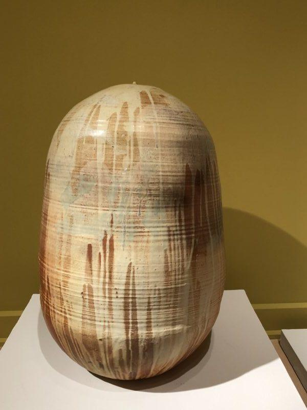 Takaezu ceramic sculpture