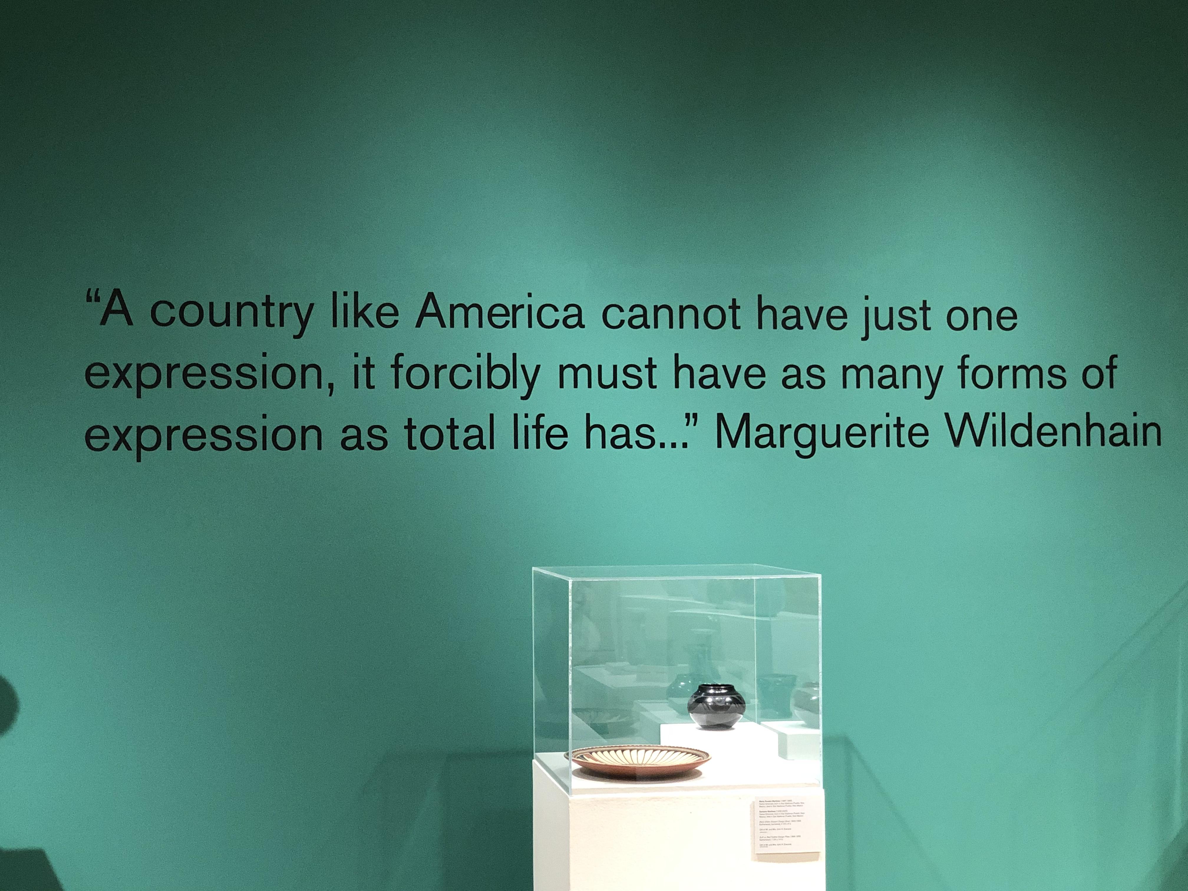 Quote by Marguerite Wildenhain