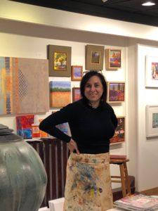 Denise LeClaire teaching workshop